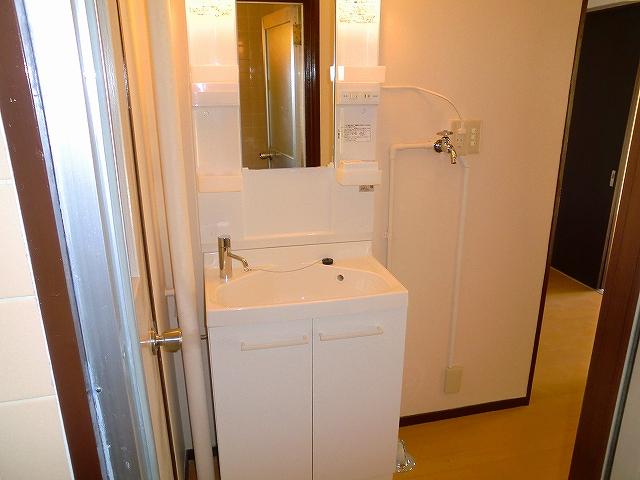 鈴木ハイツ 305号室の洗面所