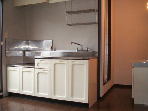 サンシティ本宿 A-202号室のキッチン