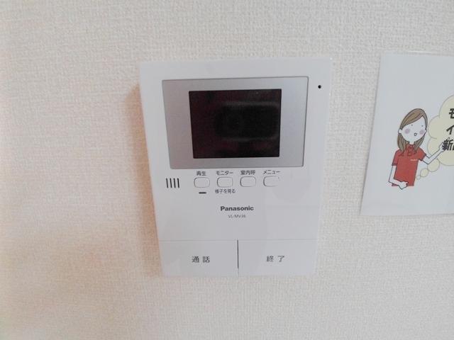 エコーハイツマルオカ 205号室のセキュリティ