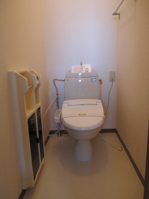 エコーハイツマルオカ 307号室のトイレ