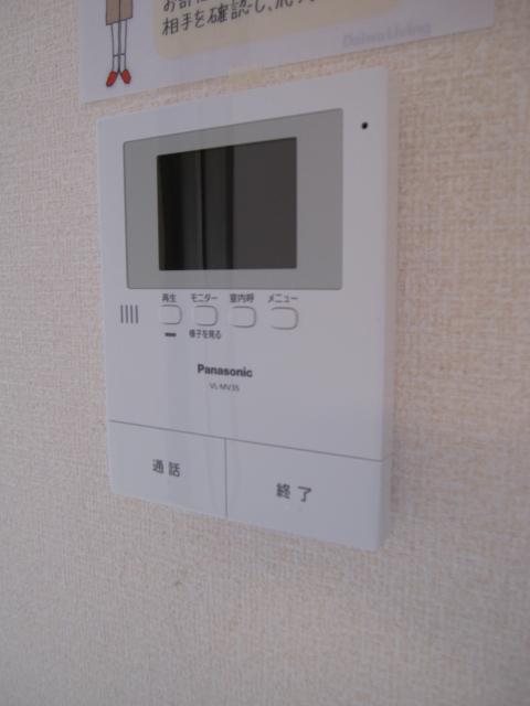 エコーハイツマルオカ 307号室のセキュリティ
