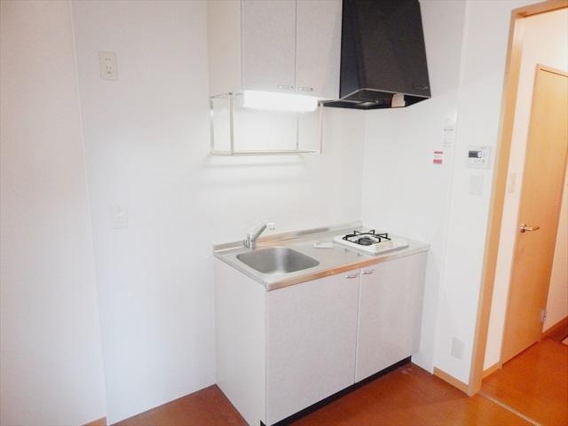 only one しまの 101号室のキッチン