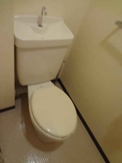 ジュネス浅間台 303号室のトイレ