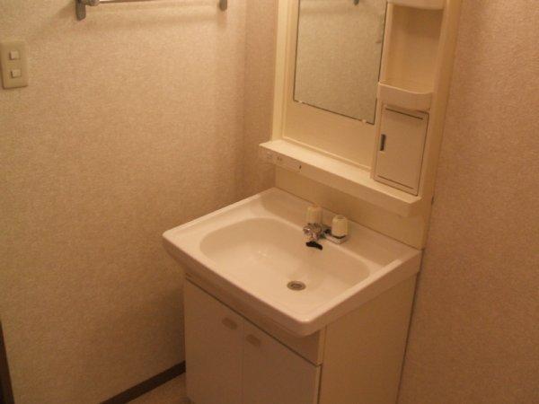 パルテール 205号室の洗面所