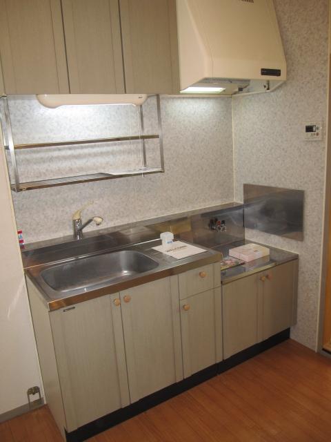 ヒルズ中央 B 202号室のキッチン