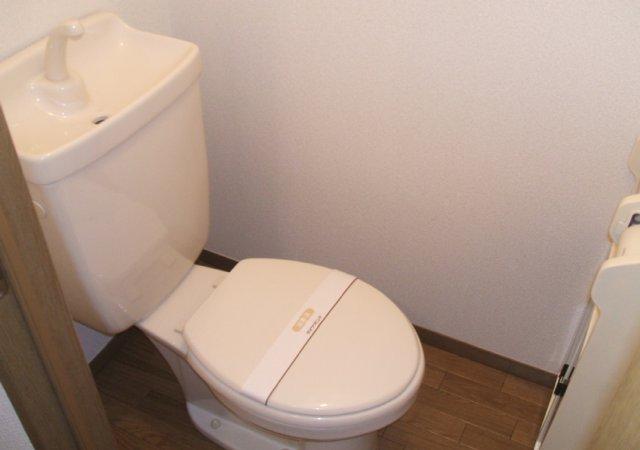 あずまじゅねす 201号室のトイレ