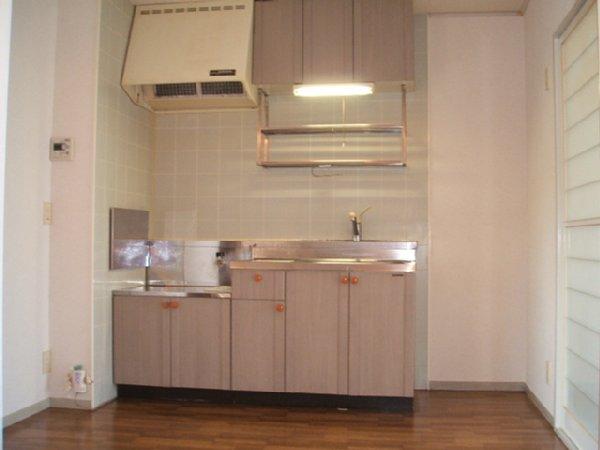 あずまじゅねす 205号室のキッチン