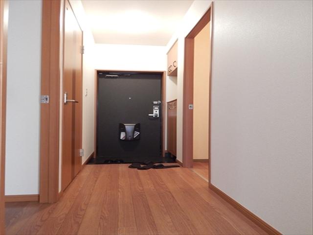 ビッグアップル 201号室の玄関
