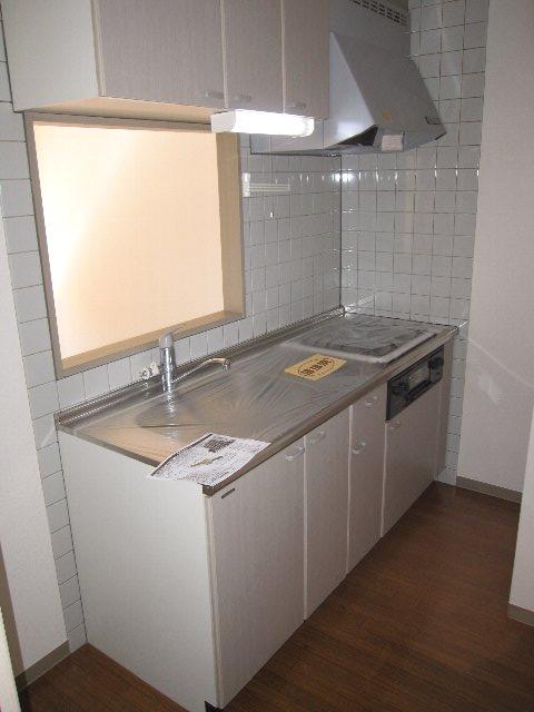 ロイヤルヒルズ 505号室のキッチン