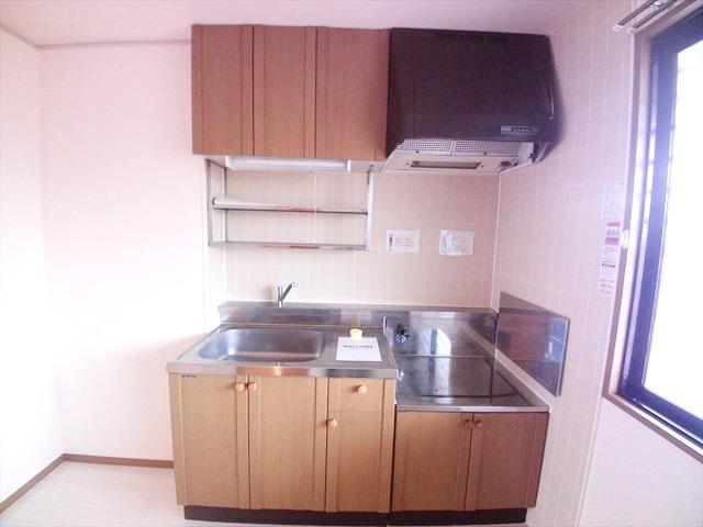須藤ハイツ 202号室のキッチン