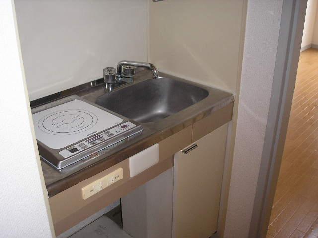 レオ上尾 105号室のキッチン