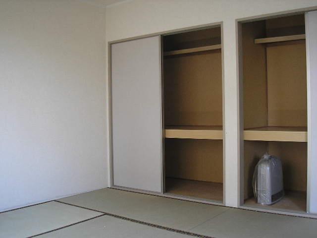パークレジデンス 201号室の収納