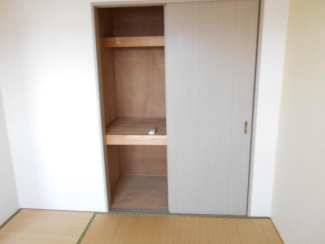 リヴィエール 302号室の収納