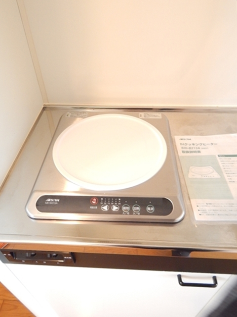 ワンルームS-3 202号室のキッチン