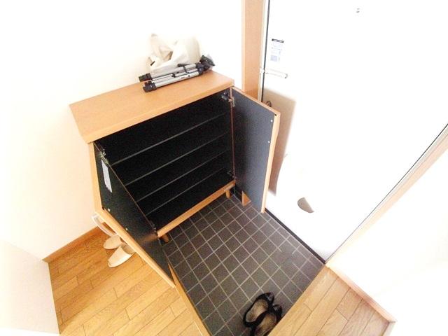 ワンルームS-3 204号室の玄関