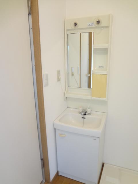 ワンルームS-2 203号室の洗面所