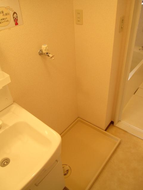 レイヴ・スペースA 202号室の洗面所