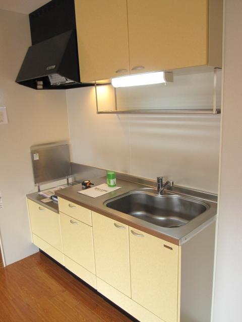 レイヴ・スペースA 202号室のキッチン