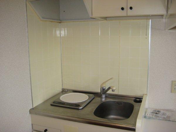 ベルピア北本第4 205号室のキッチン