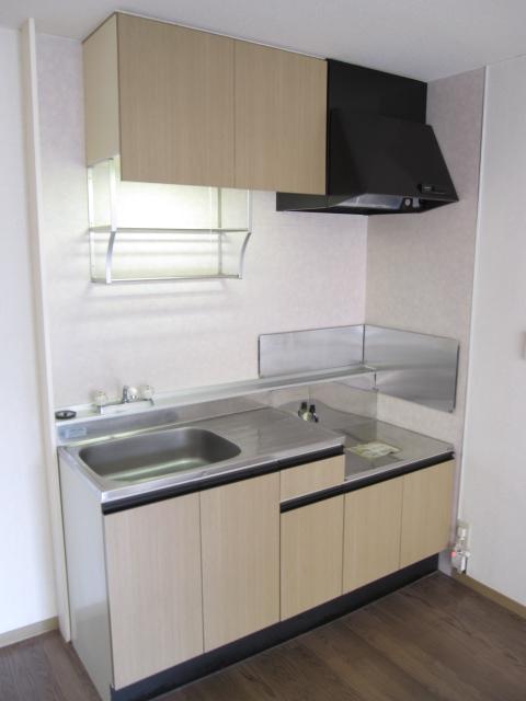 ドエリングA 102号室のキッチン