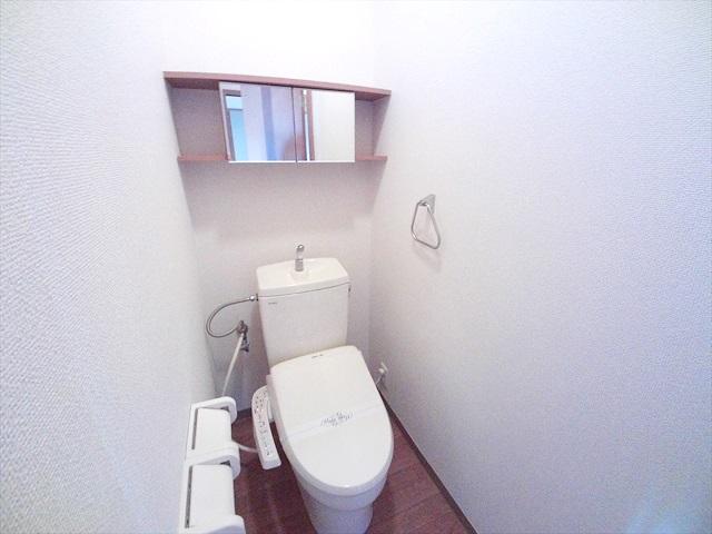 スーパーチェリー 202号室のトイレ