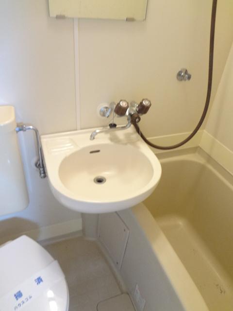 ラポーレ上尾 203号室の洗面所