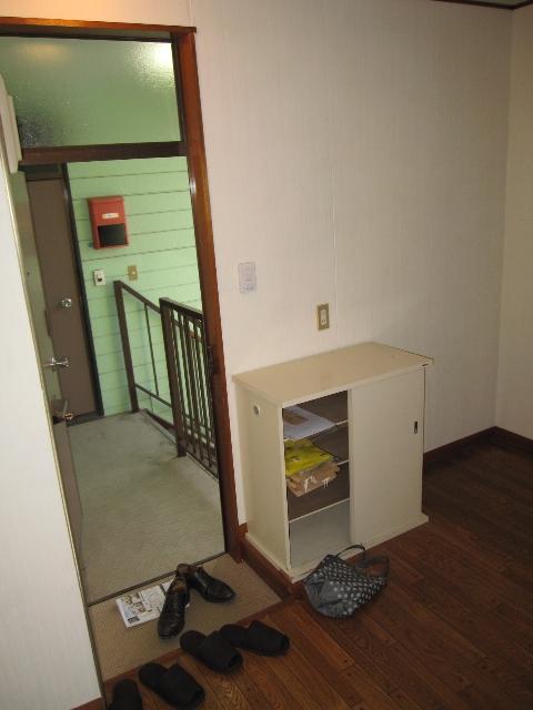 パレットガーデン B棟 201号室の玄関