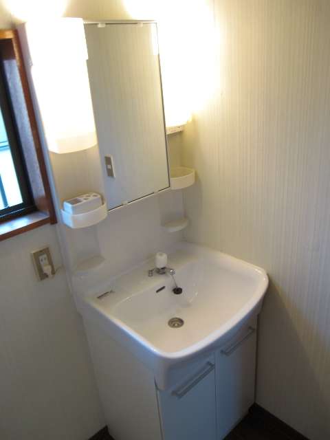 パレットガーデン B棟 201号室の洗面所