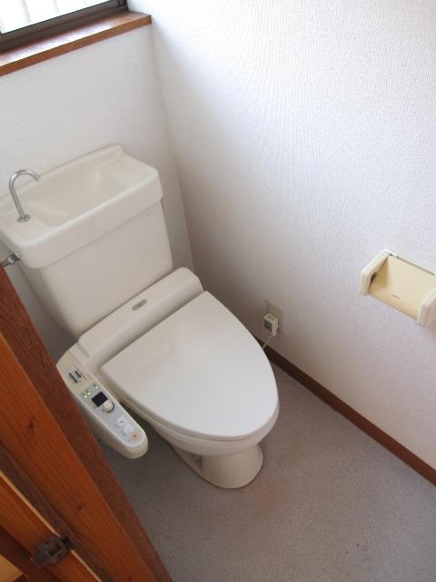 パレットガーデン B棟 201号室のトイレ