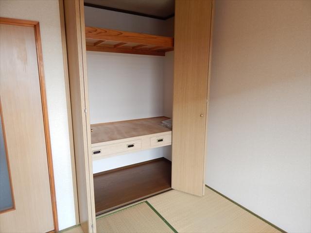 グランドソレイユⅡ 1-203号室の収納