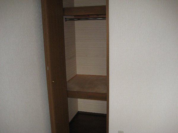 グランドソレイユⅡ 1-201号室の収納