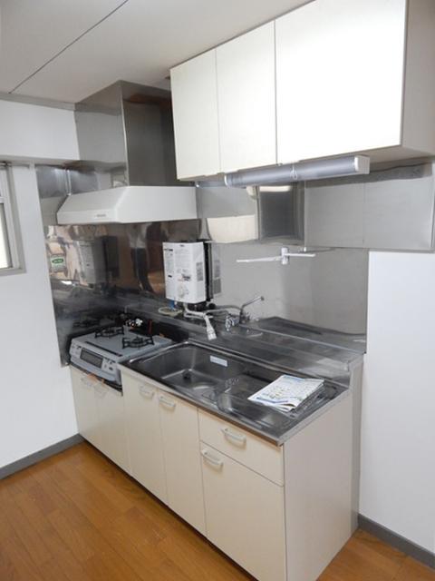 小川第一ビル 201号室のキッチン