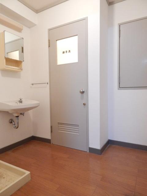 小川第一ビル 201号室の洗面所
