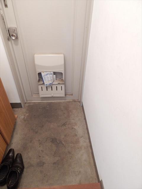 小川第一ビル 203号室の玄関
