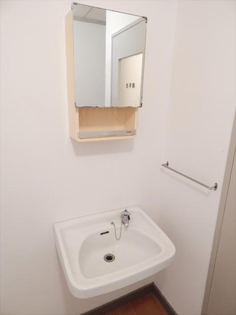 小川第一ビル 203号室の洗面所