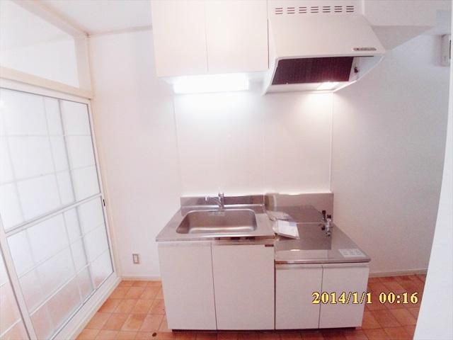 エスト谷津 201号室のキッチン