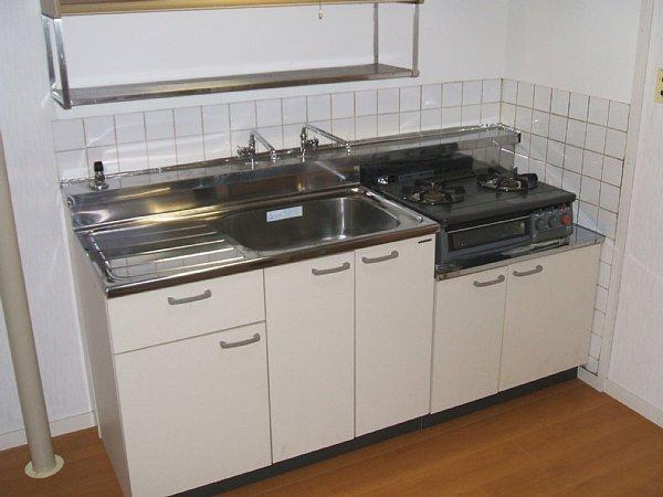 青木ハイツ 507号室のキッチン