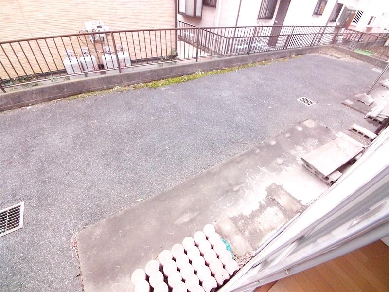 堀井コーポ 102号室のバルコニー