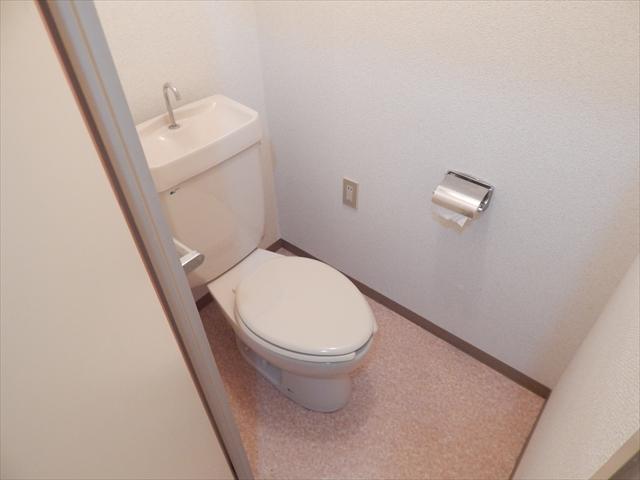 オクタビアヒル B-302号室のトイレ