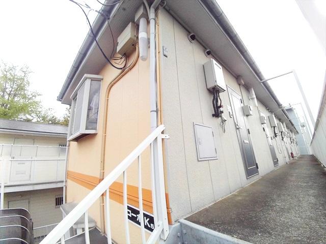 原市コーポK5 2-E号室の外観2