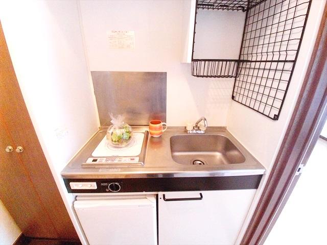 原市コーポK5 2-E号室のキッチン