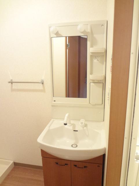 グレートノーブルA 203号室の洗面所