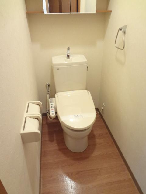 グレートノーブルA 203号室のトイレ