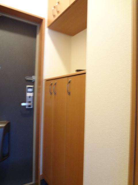 グレートノーブルA 203号室の玄関