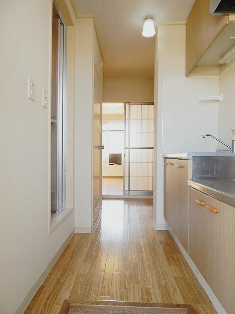 ロイヤルコーポ幸 A 103号室のキッチン