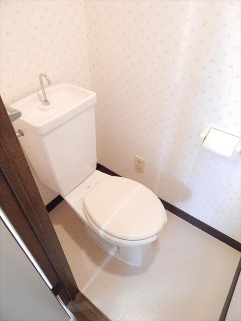 ミヤシタマンション 502号室のトイレ