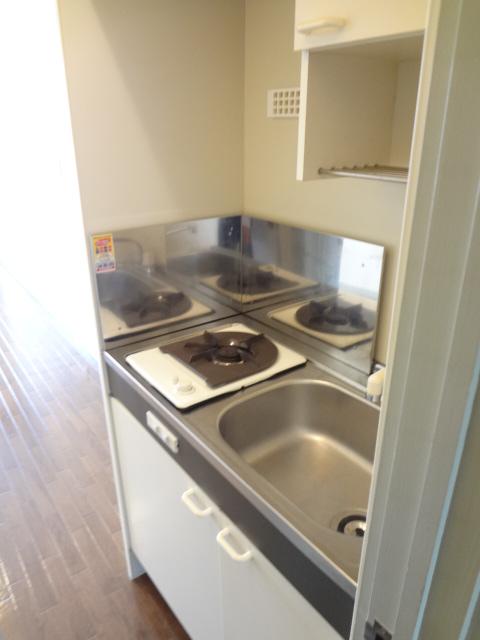 リトルリバーハイツ 202号室のキッチン