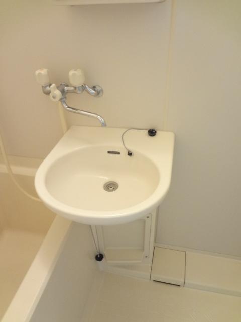 リトルリバーハイツ 202号室の洗面所