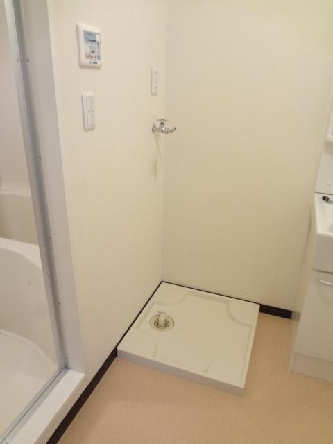 フローラ 301号室の洗面所