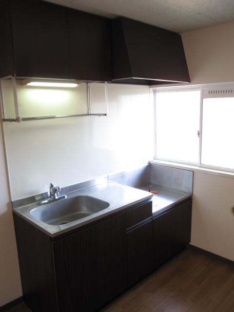 グリーンピア上野C 202号室のキッチン